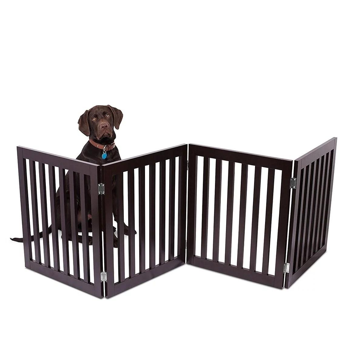 kennelmaster black kennel gate 22 5 w x 57 75 h