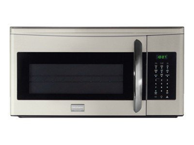 https www walmart com ip frigidaire gallery series fgmv174km microwave oven over range 1 7 cu ft 1000 w silver mist with built in exhaust system 28764885