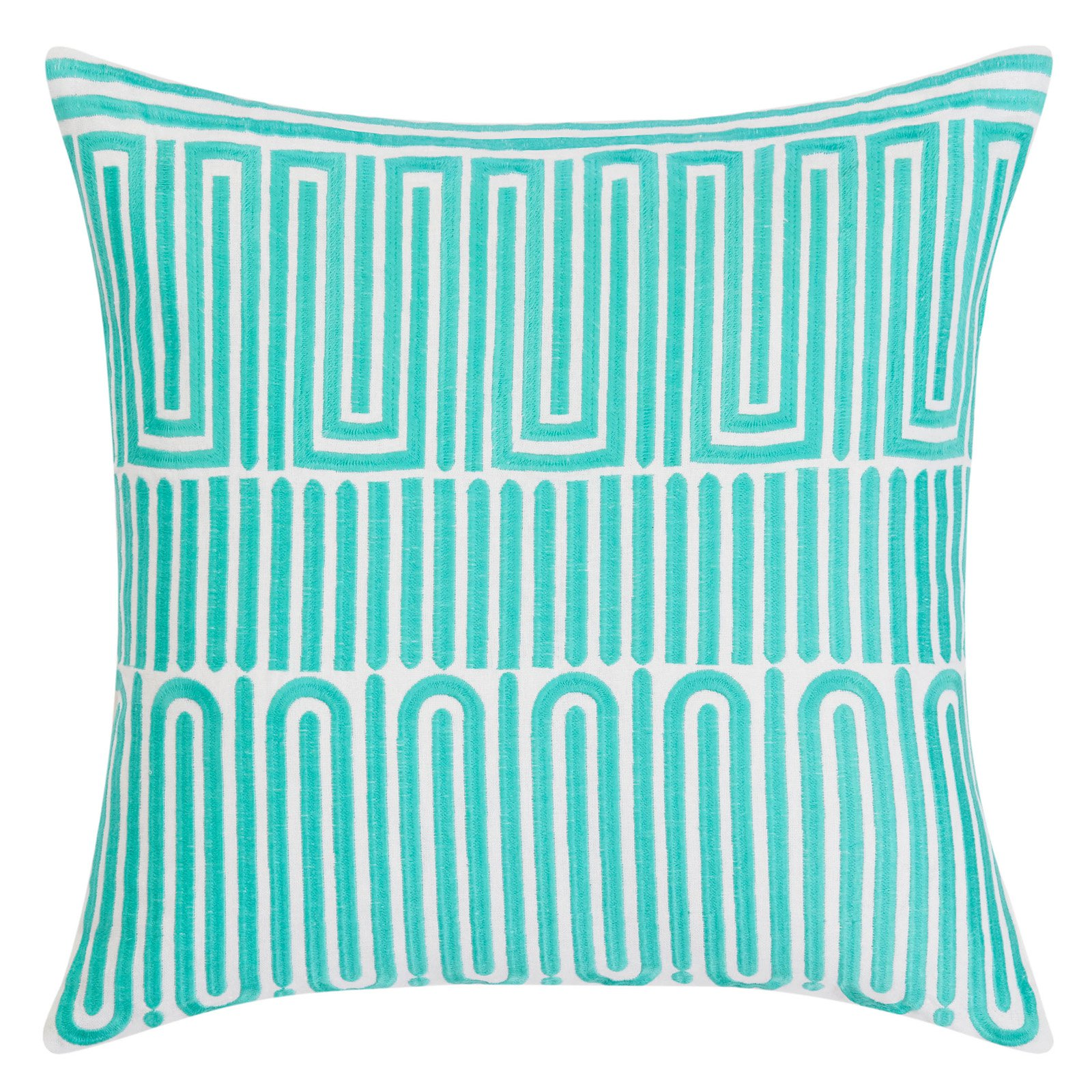 racket club geo decorative throw pillow by trina turk