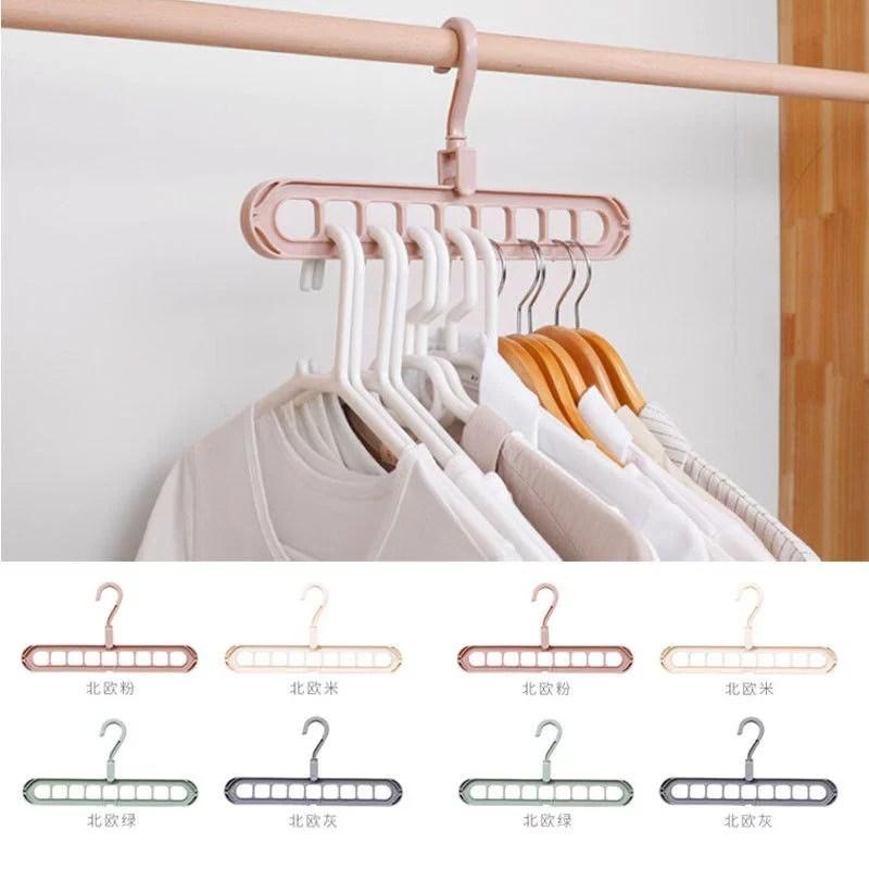 New Home Space Saver Wonder Magic Clothes Hangers Closet ... on Closet Space Savers Walmart  id=75613