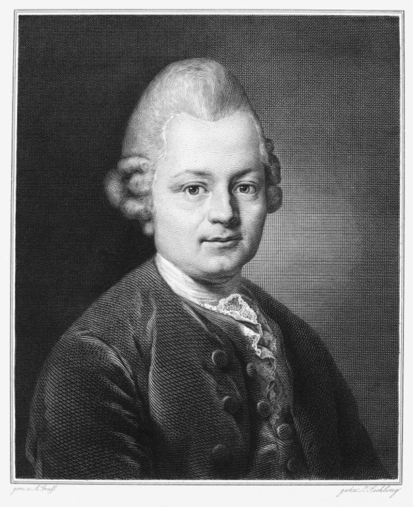 Gotthold Ephraim Lessing N(1729-1781) German Dramatist And ...