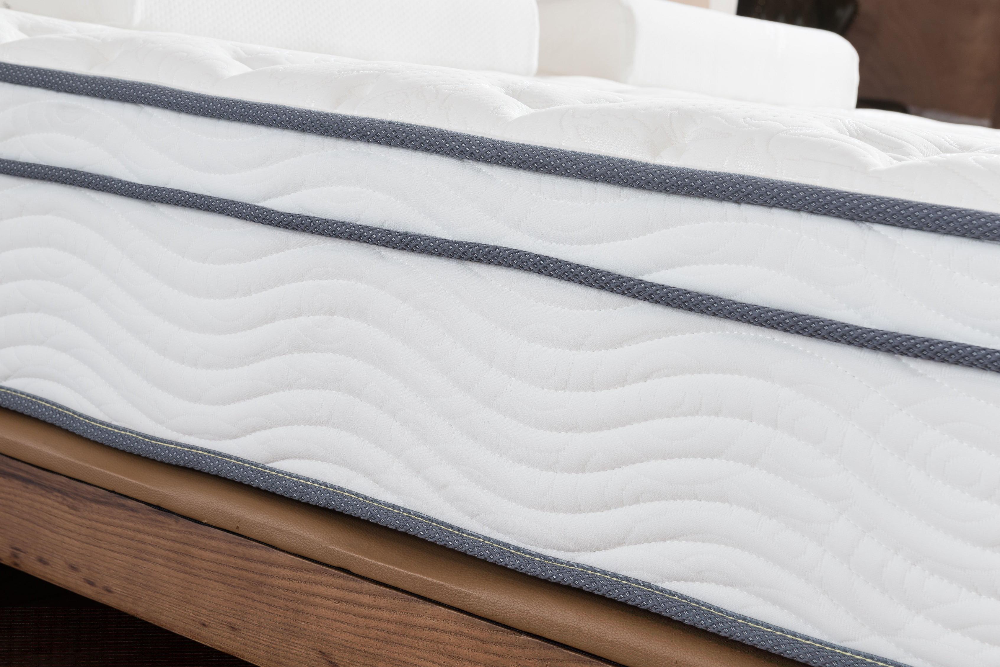 roundhill furniture pillow top pocket spring mattress full