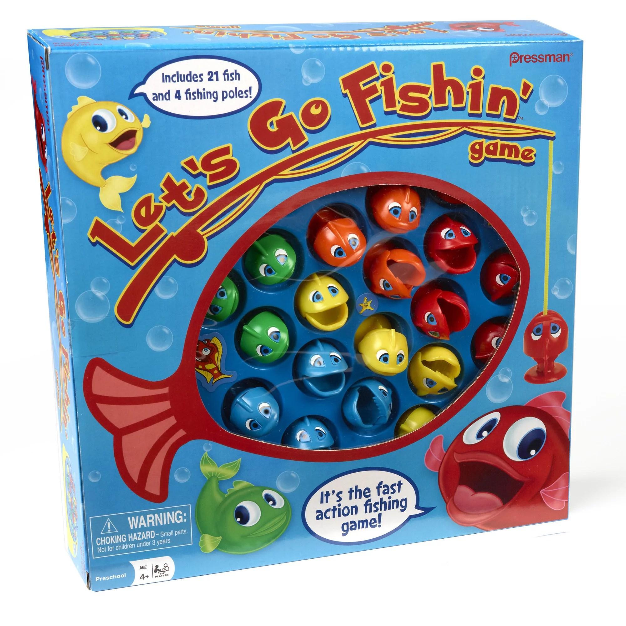 Pressman Toy Lets Go Fishin Game