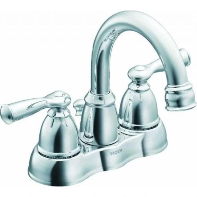 moen ca84913 double handle centerset bathroom faucet from the banbury collection chrome walmart com