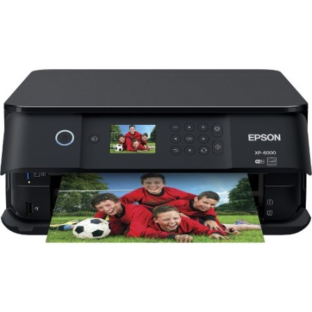 Epson Expression Premium XP-6000 Wireless Color Photo Printer with Scanner & Copier