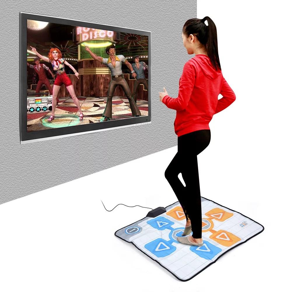 tapis de danse antiderapant lhcer tapis de danse pour wii tapis de danse antiderapant double personne pour jeu de console nintendo wii