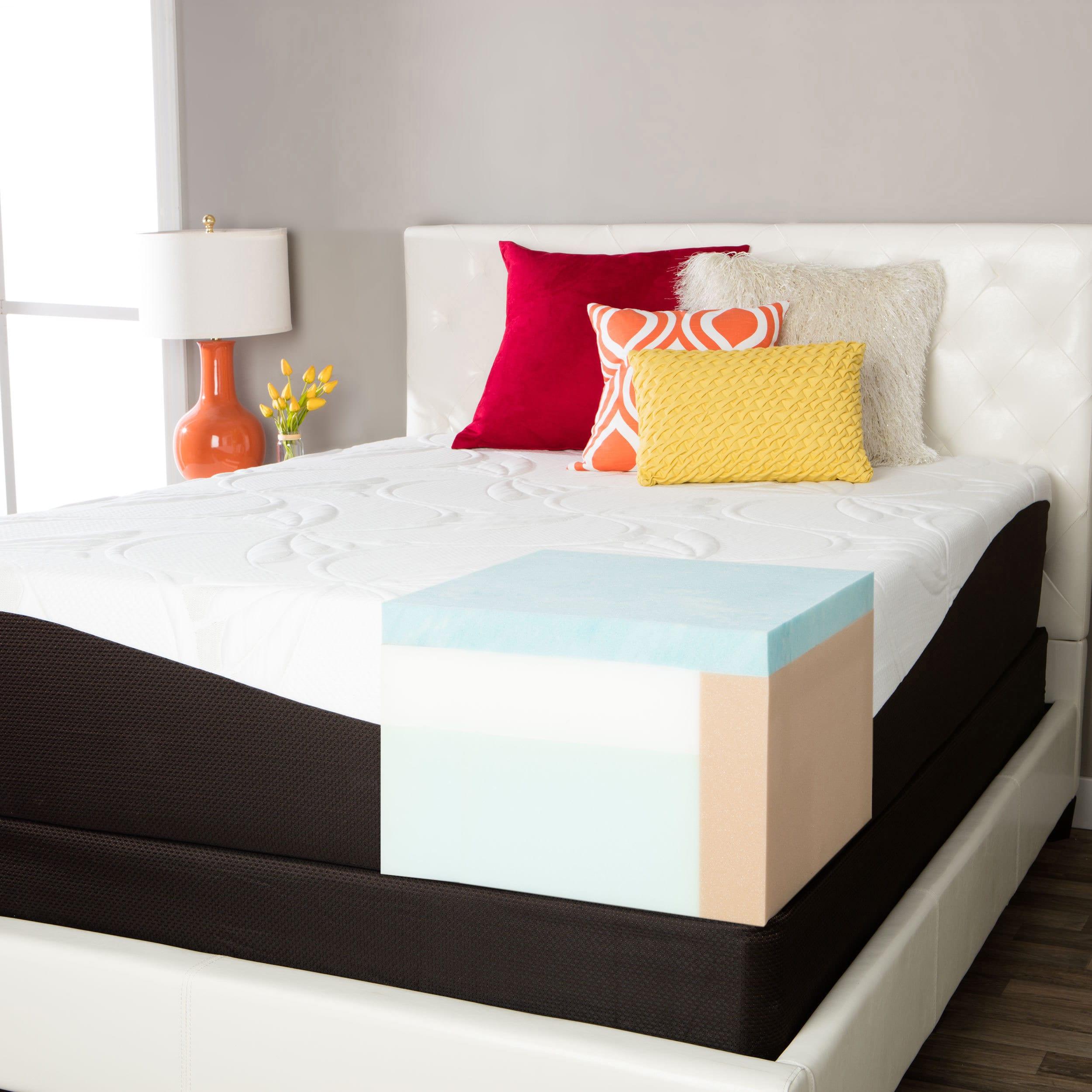 simmons beautyrest comforpedic from beautyrest choose your comfort gel memory foam 14 inch king size mattress set