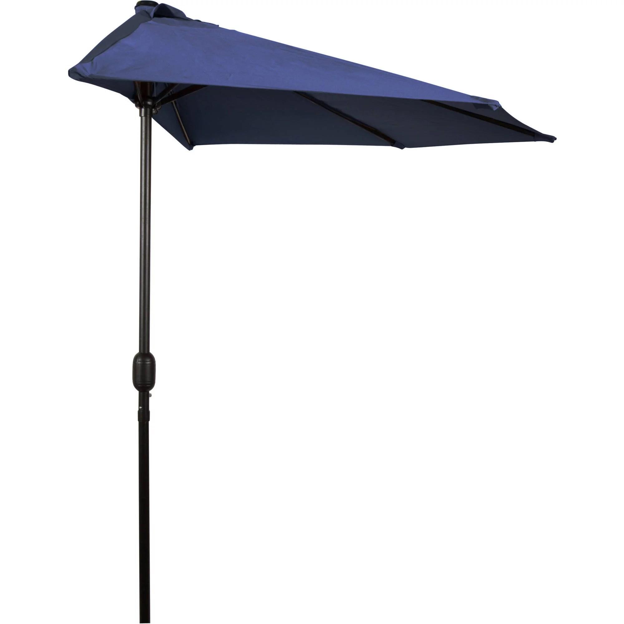 trademark innovations 9 patio half umbrella walmart com
