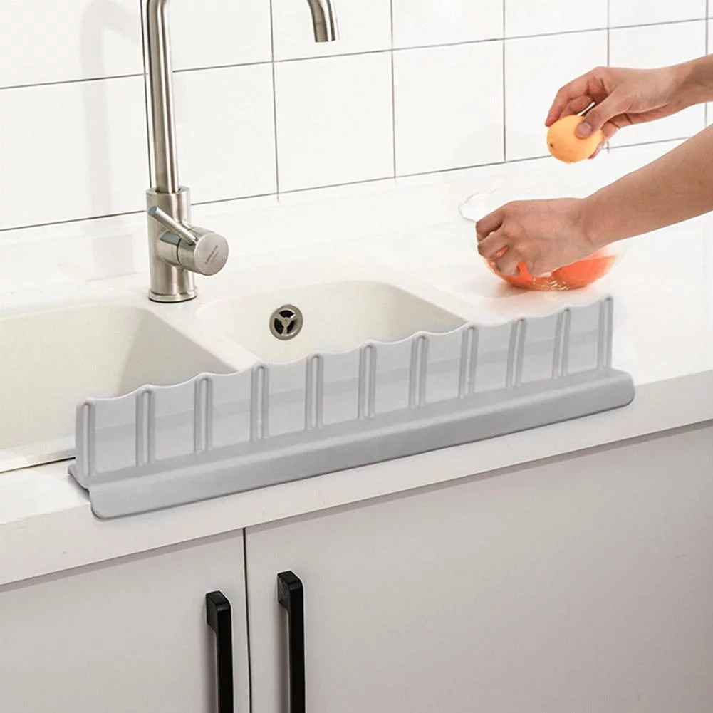 faginey kitchen sink anti splash guard washing dishes vegetables prevent water splash board water splash guard board sink splash guard