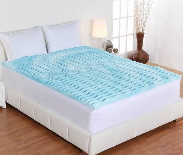 Authentic Comfort 3 Inch Orthopedic 5 Zone Foam Mattress Topper Walmart Com