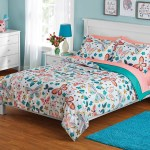 Your Zone Butterfly Bed In A Bag Coordinating Bedding Set Walmart Com Walmart Com