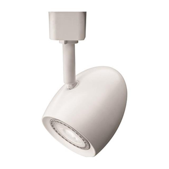 lithonia lighting lthoval mr16gu10 27k mw m4 led lamp oval track head matte white non california compliant t20