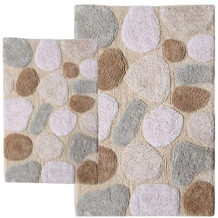 pebbles 2pc bath rug set - walmart