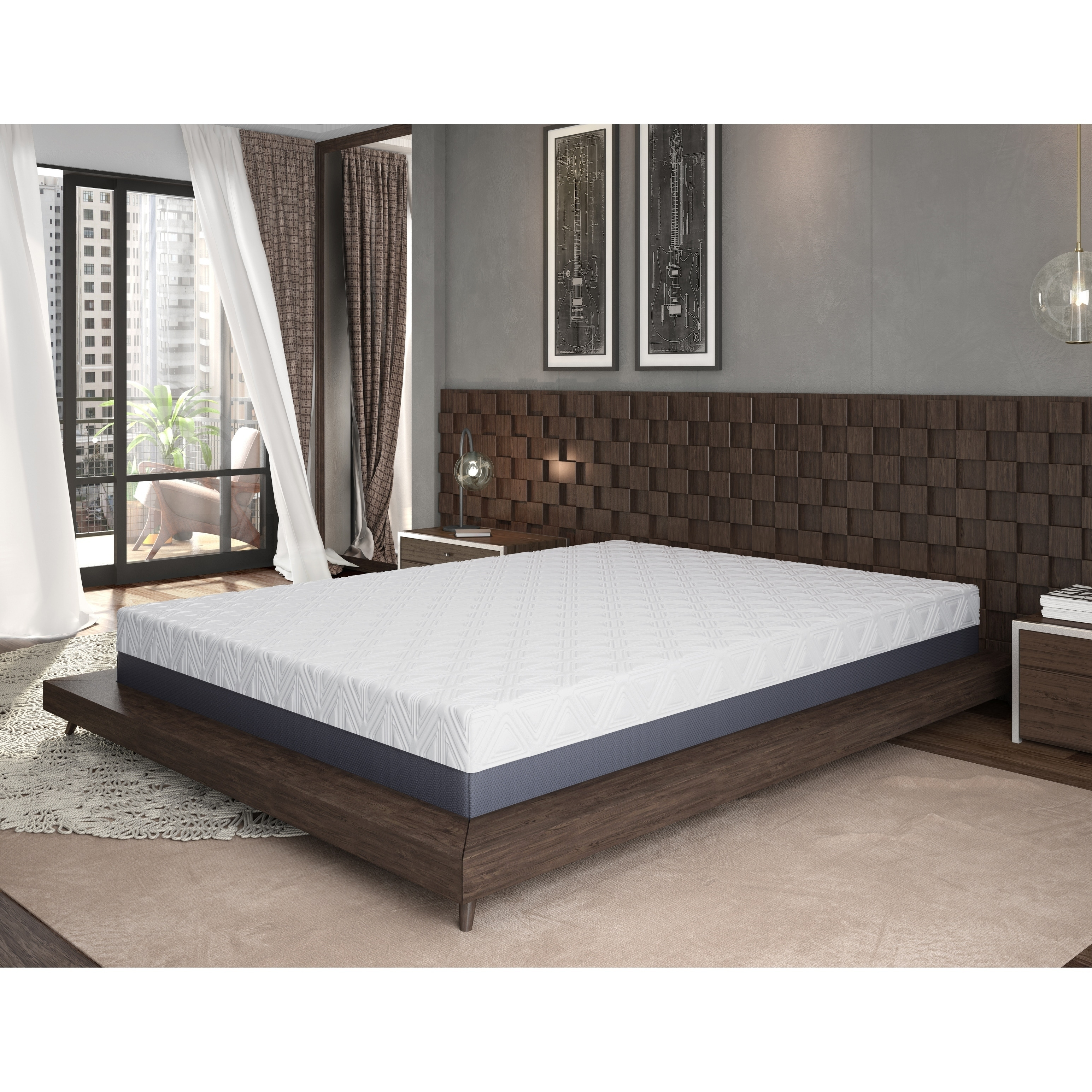 With options for twin and up to king sizes, you can save as much as 28% on a new mattress. omne sleep 10 inch gel memory foam mattress