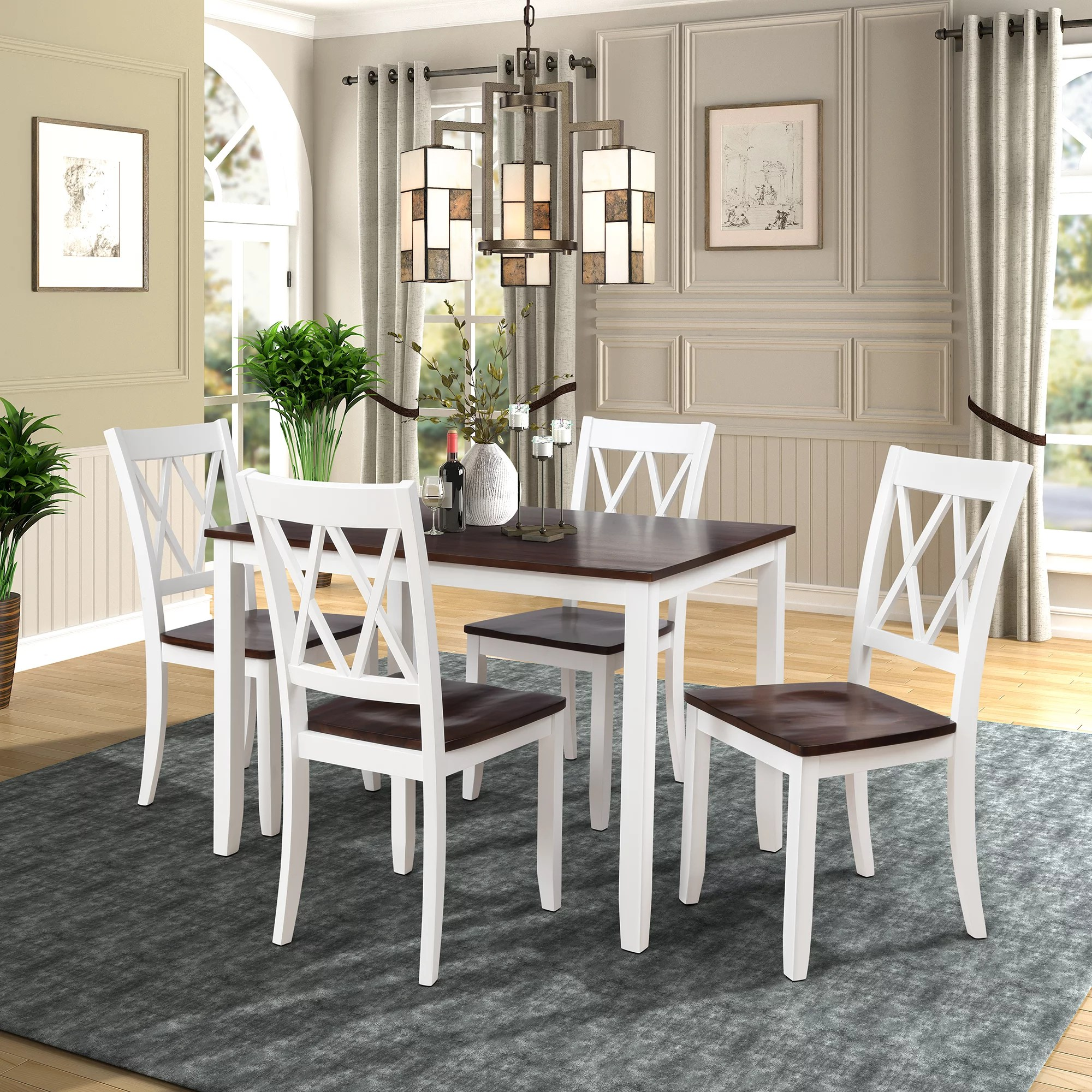 clearance 5 piece dining table set modern kitchen table on dining room sets on clearance id=75443