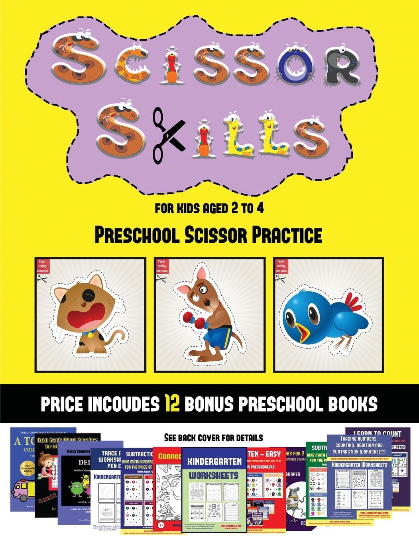 Preschool Scissor Practice Preschool Scissor Practice
