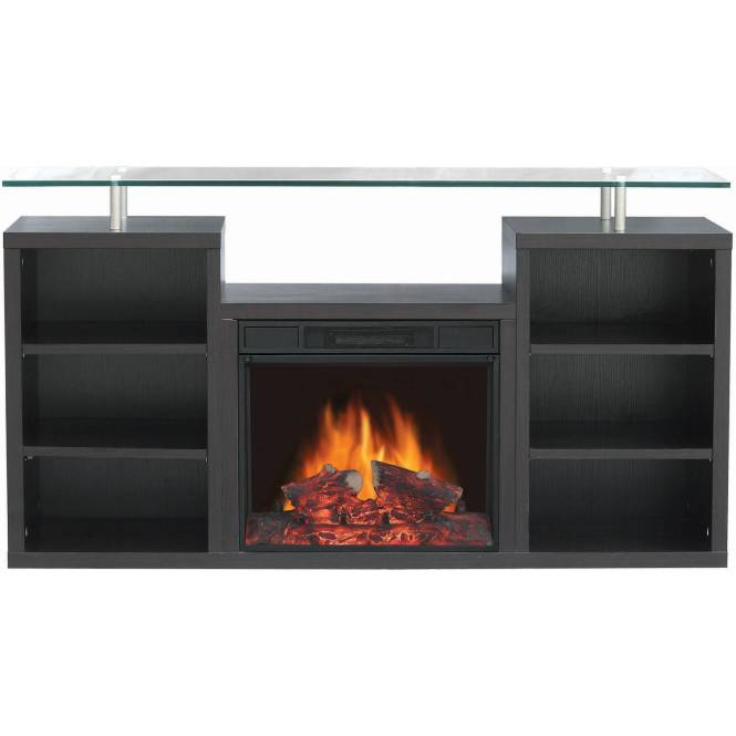 Decor Flame Infrared Electric Fireplace With 32