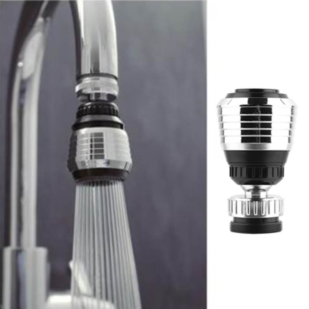 sink water faucet tip swivel nozzle adapter kitchen aerator tap chrome connector