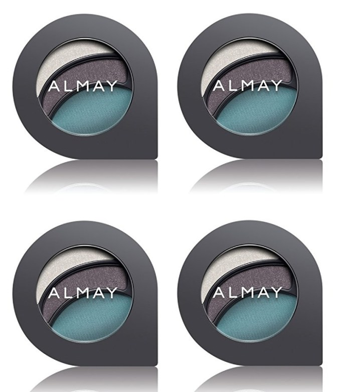 almay intense i-color evening smoky for blue eyes, #150 blues (pack of 4) + cat line makeup tutorial