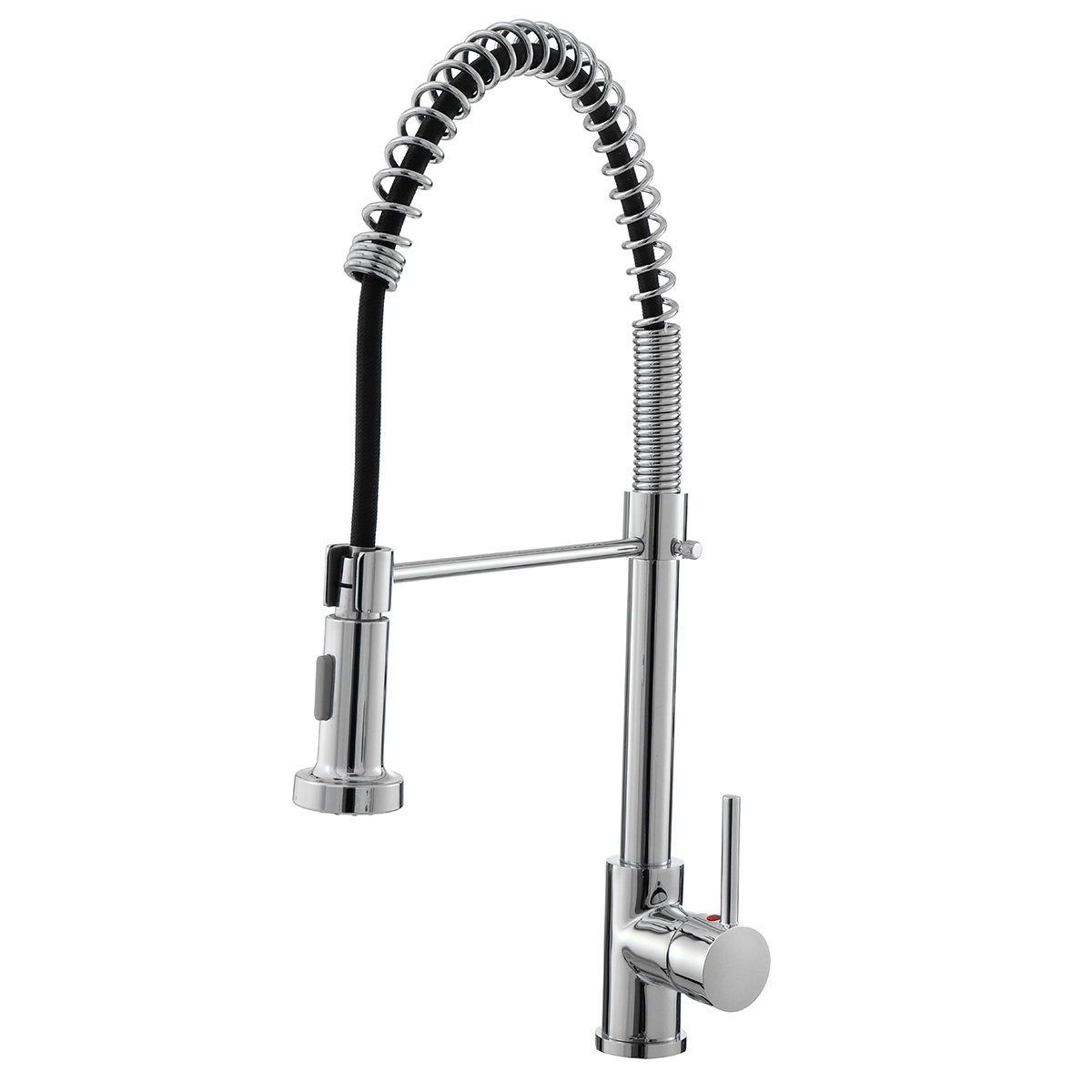 hallolure 20 pull out kitchen faucet low lead commercial single handle pull down sprayer spring kitchen sink faucet chrome kitchen faucets