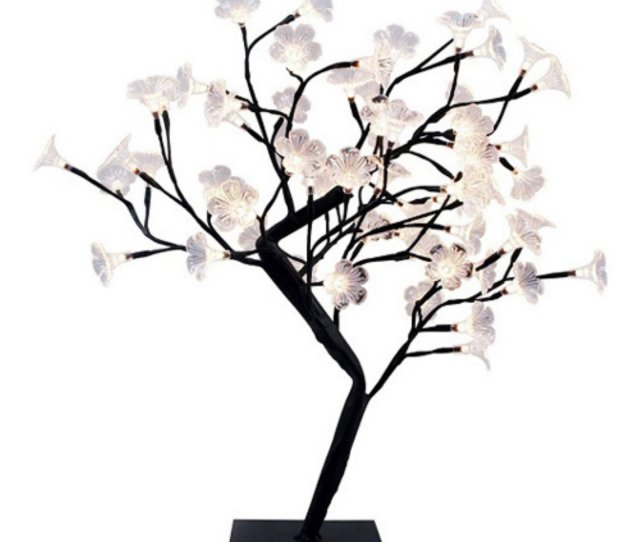 Simple Designs Led Cherry Blossom Decorative Lighted Tree