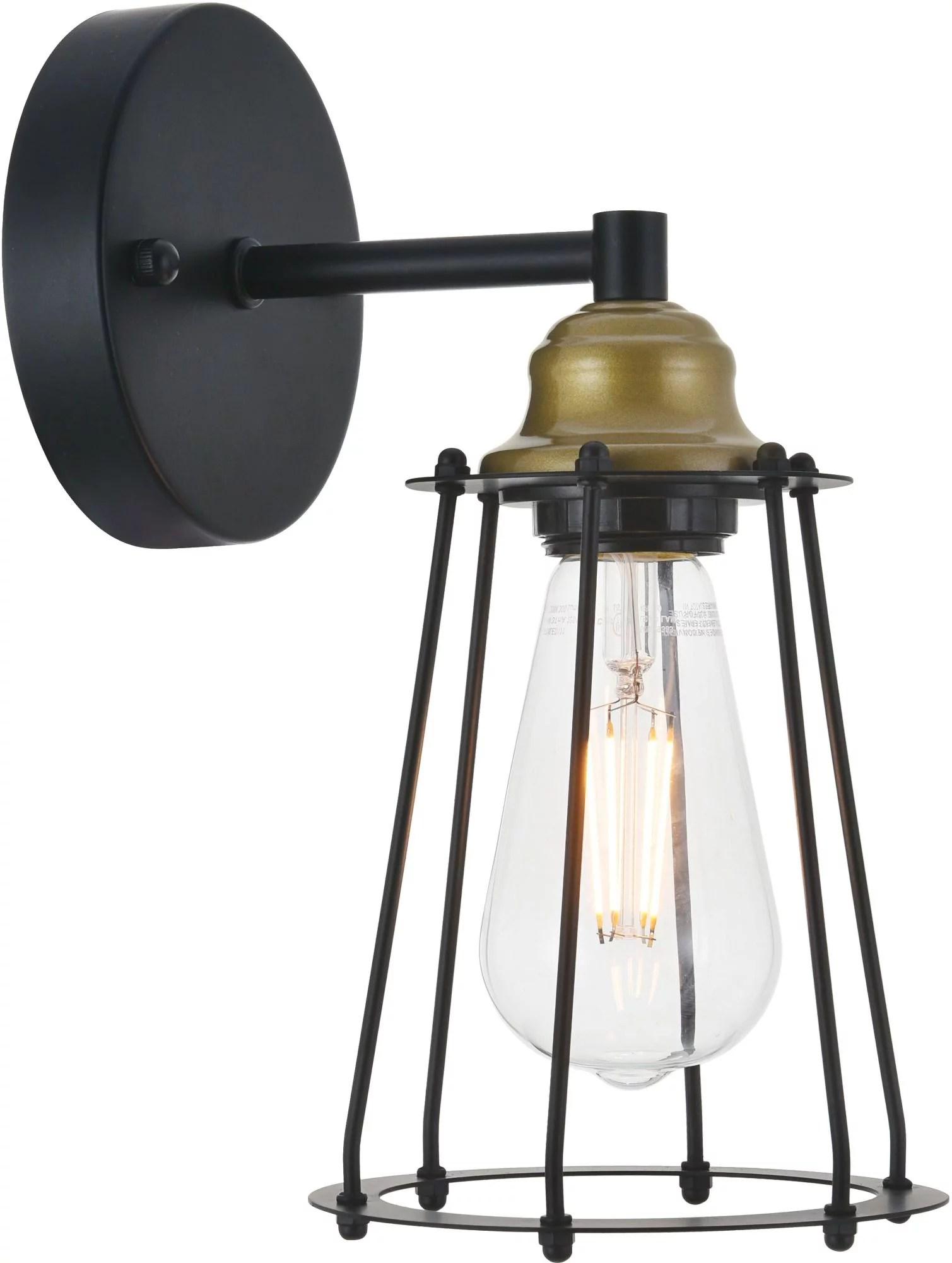 """Elegant Lighting Ld4047w5 Auspice 1 Light 11"""" Tall ... on Height Of Bathroom Sconce Lights id=85864"""