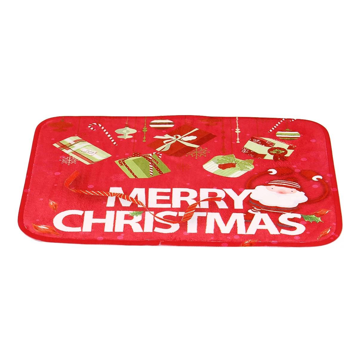 Floor Rug Bath Shower Carpet Christmas Bedroom Kitchen Rug Non Slip Floor Mat Doormat Gift