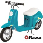 Razor Pocket Mod 24v Miniature Euro Style Electric Scooter Vintage Inspired Design Hidden Storage Below Cushioned Seat Up To 15 Mph And Up To 40 Min Ride Time Walmart Com Walmart Com