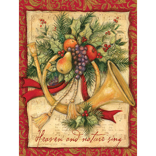 Lang Joy To The World Boxed Christmas Cards