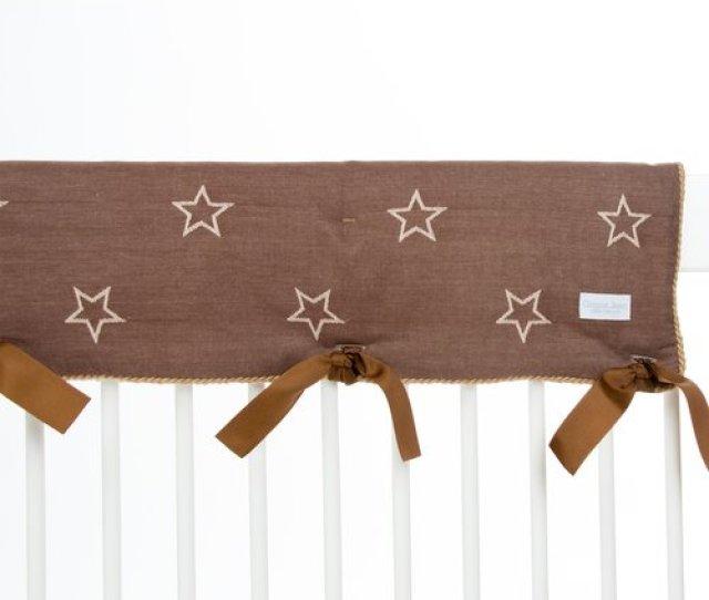 Zoomie Kids Dunecrest Star Convertible Crib Rail Guard Cover