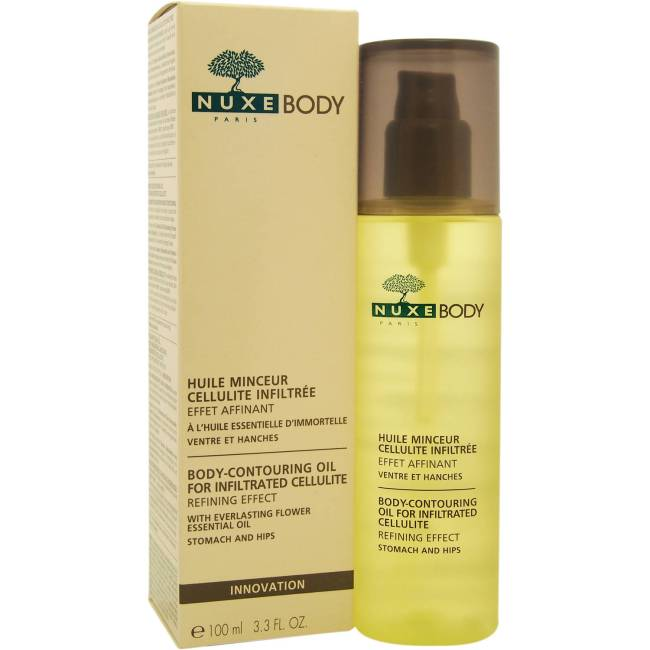 Nuxe for Women Body-Contouring Oil for Infiltrated Cellulite, 3.3 oz