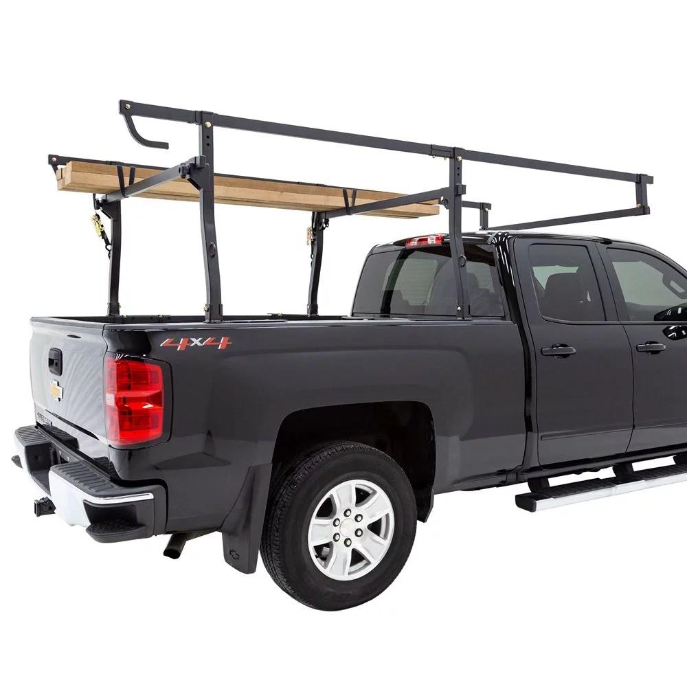 apex uput rack v3 universal steel heavy duty over cab truck rack 1 000 lb cap