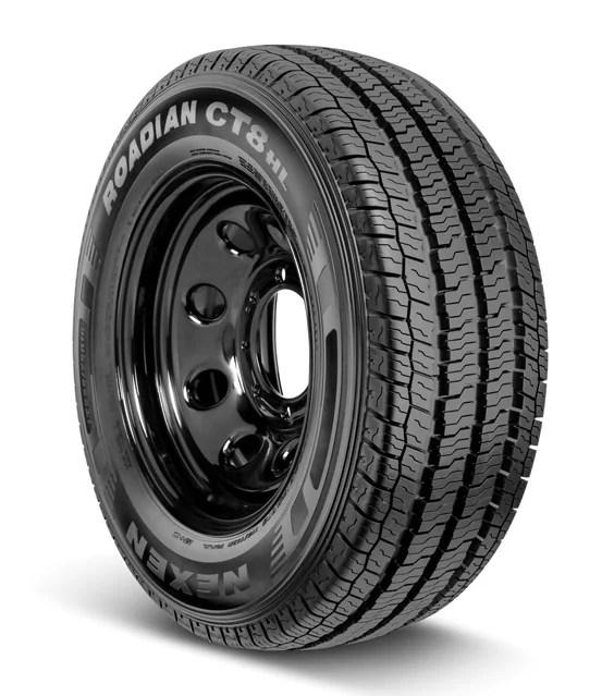 nexen roadian ct8 hl commercial van light truck lt225 75r16 115 112r tire