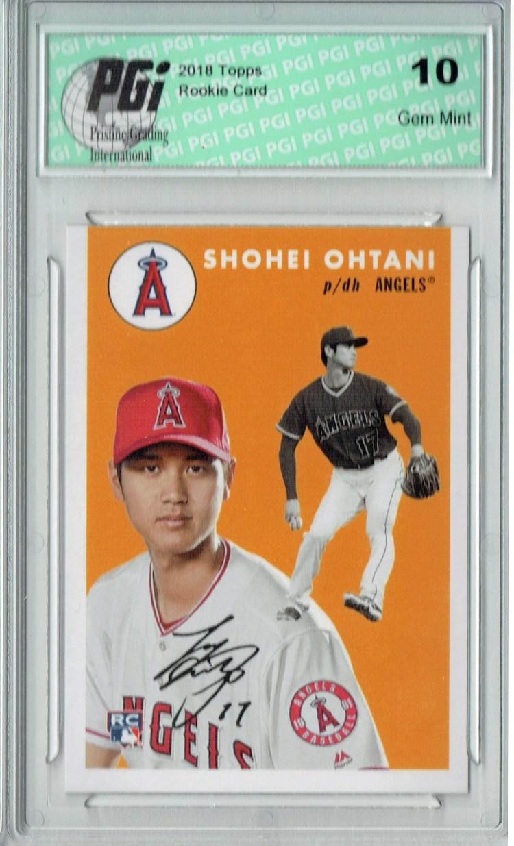 Shohei Ohtani 2018 Topps #250 1954 Throwback, 842 Made ...