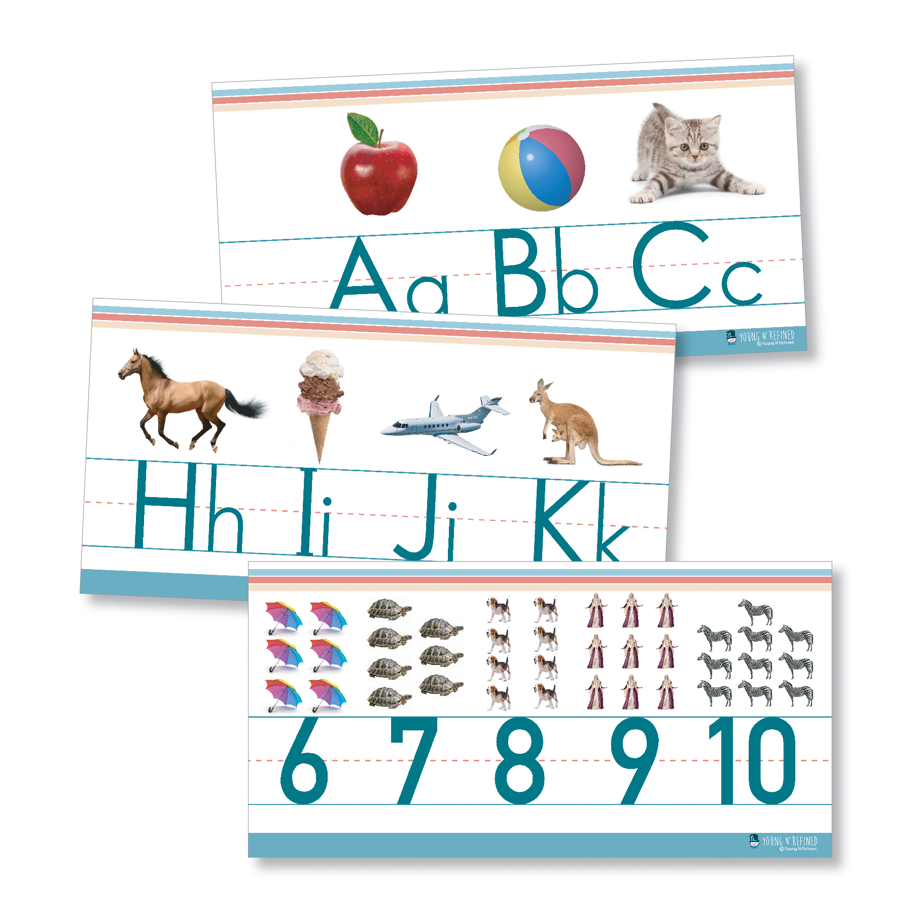Alphabet Amp Numbers Classroom Wall Line For Teaching Abcs