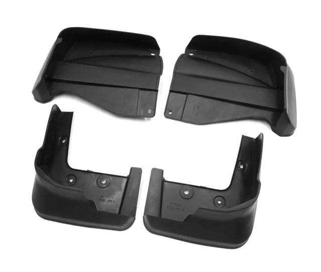 Black Plastic Car Front Rear Splash Guards Set For 2009 2015 Honda Odyssey
