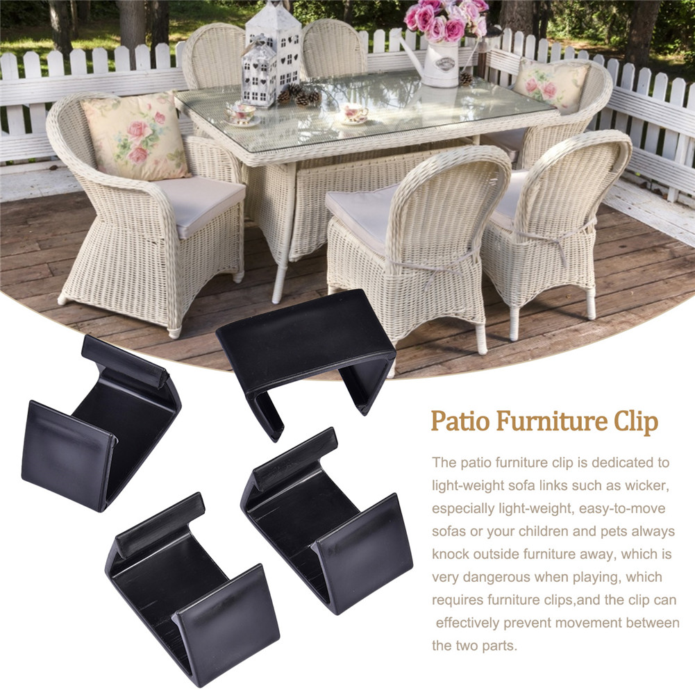 large 10pcs outdoor patio wicker