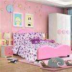 Full Crown Girls Bedding Set Beautiful Microfiber Comforter With Furry Friend And Sheet Set 8 Piece Kids Bed In A Bag Walmart Com Walmart Com