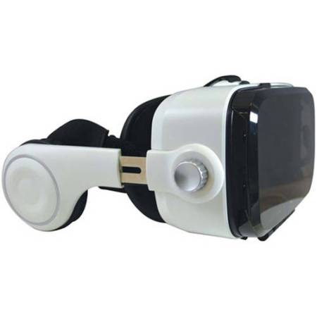 Emio 00240 Infinivision VR Visor with Headphones, White