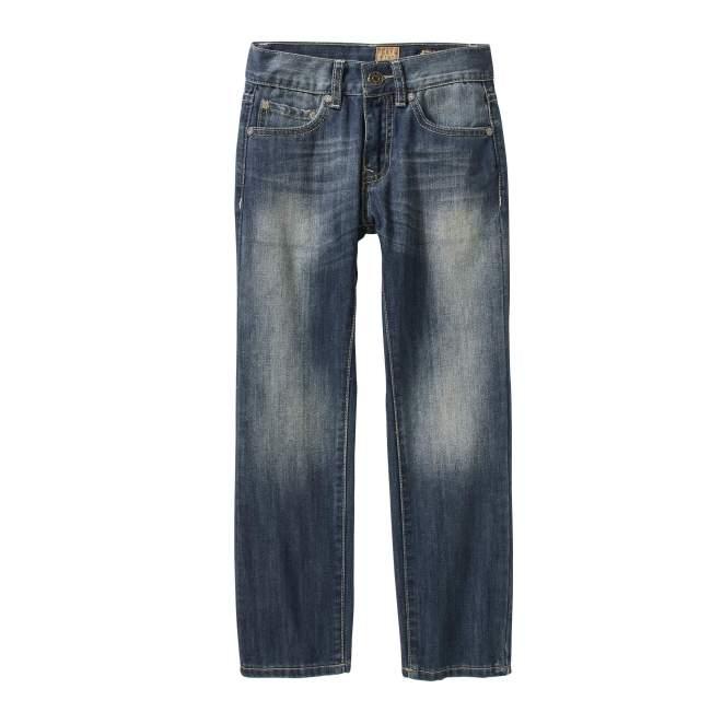 Tokyo Five Boys' Straight Leg Fashion Denim With Flap Back Pockets