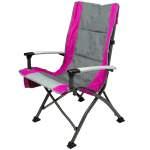 Ozark Trail Folding High Back Chair With Head Rest Fuchsia Walmart Com Walmart Com