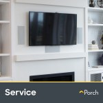 Tv Wall Mounting Up To 60 By Porch Home Services Walmart Com