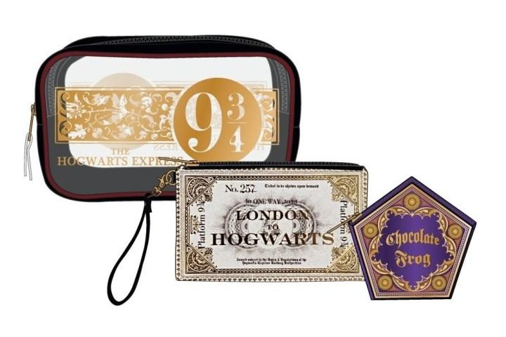 ddcfb6a4f0b Harry Potter Hogwarts Express Gift Set Make Up Case Wallet Coin. Harry  Potter Hogwarts Letter Cosmetic Bag Set Boxlunch Exclusive