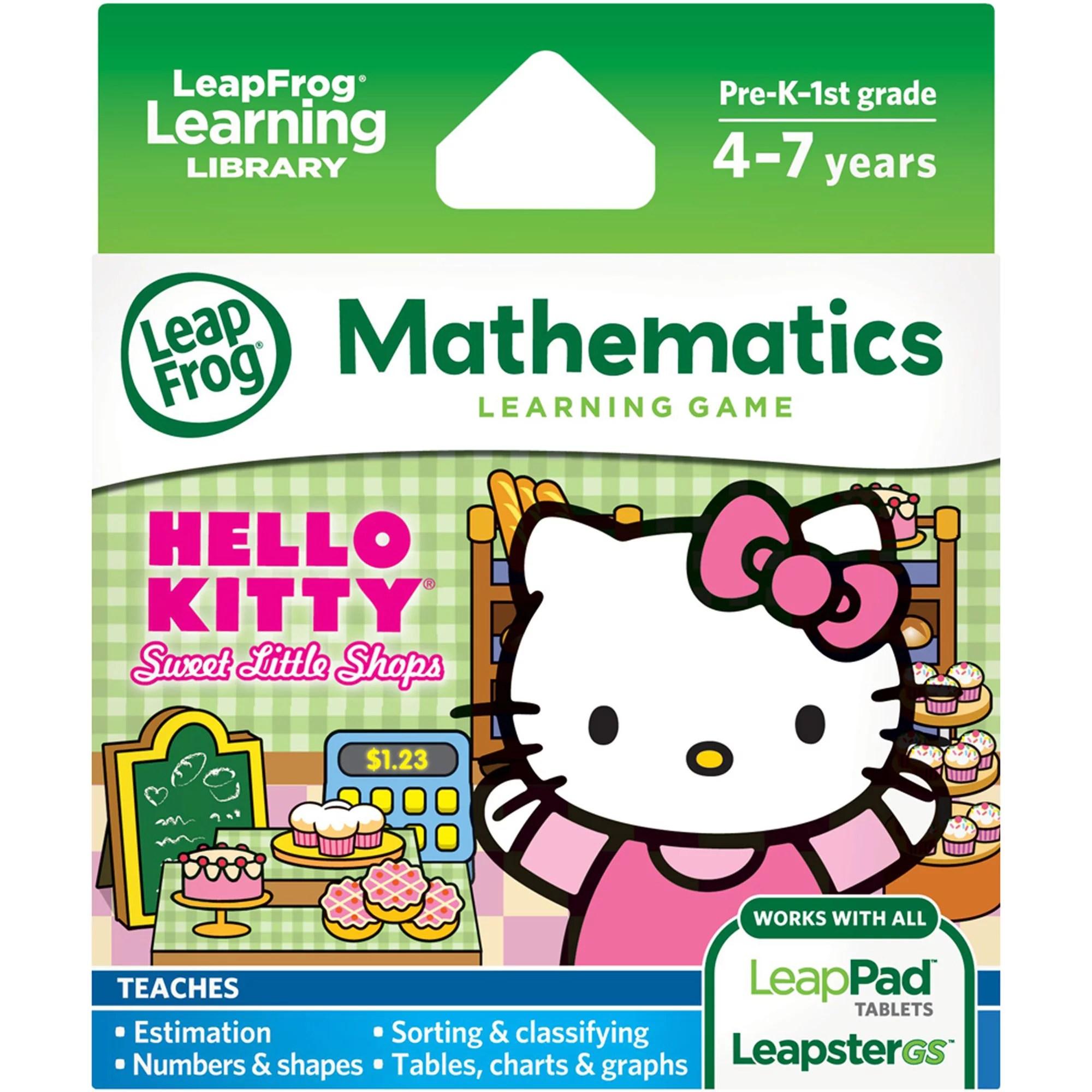 Leapfrog Explorer Learning Game Sanrio Hello Kitty Sweet