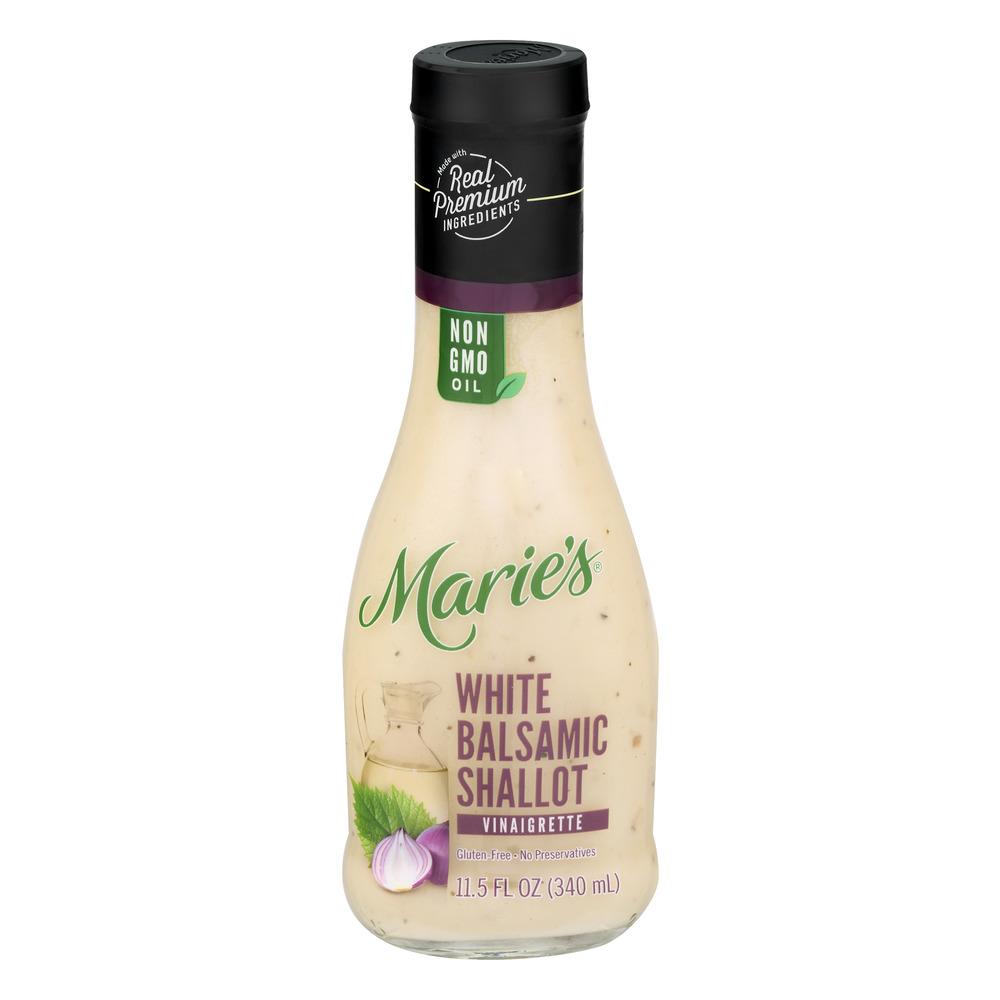 Marie39s White Balsamic Shallot Vinaigrette 115 FL OZ