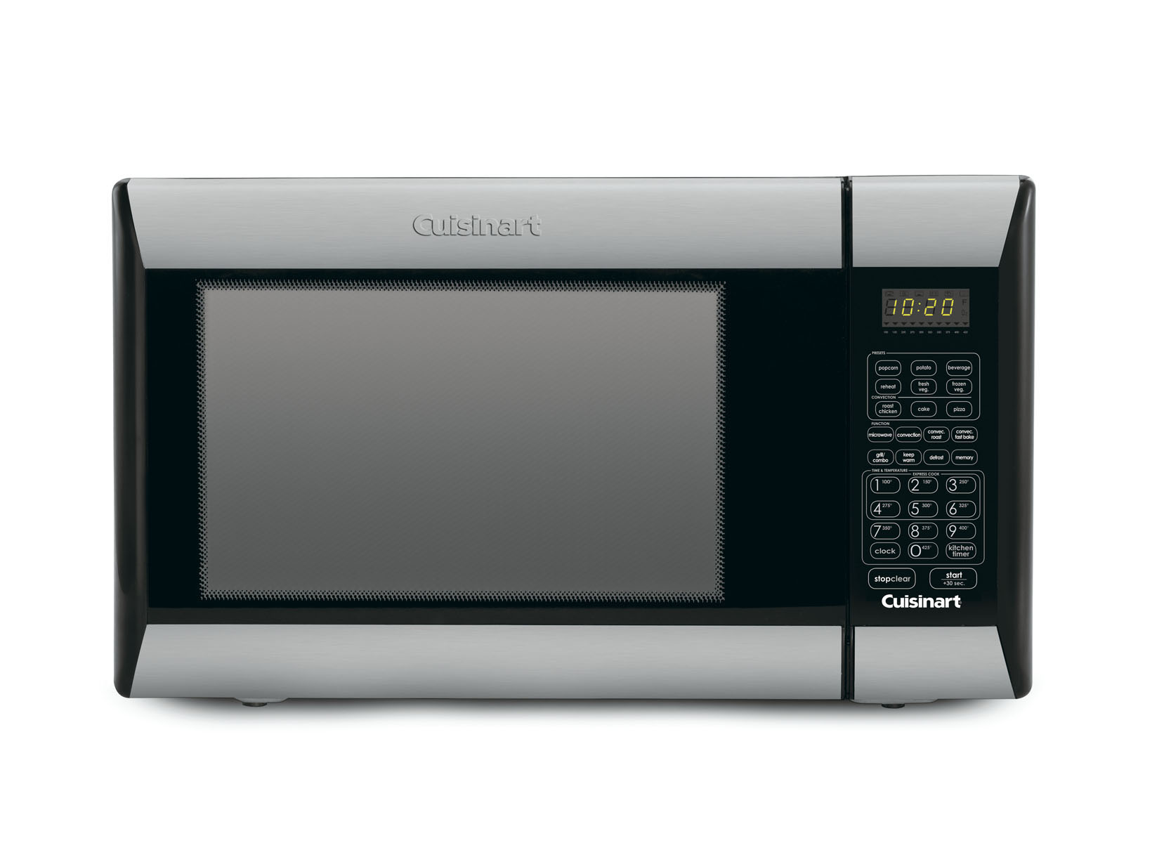 cuisinart 1 2 cu ft microwave convection oven and grill stainless steel