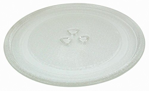 impressa products small 9 6 24 5cm microwave glass plate microwave glass turntable plate