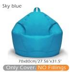 Kids Adults 27 56 X 31 5 39 37 X 47 24 Waterproof Bean Bag Cover Chair Indoor Children Lazy Lounger No Filling Walmart Com Walmart Com