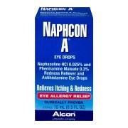 Alcon Eye Drops Naphcon A Allergy Relief 5 Oz