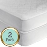 Sealy Waterproof Crib And Toddler Mattress Pad 2 Ct Hypoallergenic Walmart Com Walmart Com
